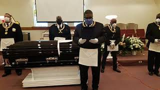 PGM Willie B. Evans Masonic service pt.1 | Most Worshipful Prince Hall Grand Lodge of Illinois