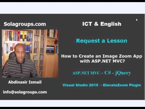 How to  Create an Image Zoom with ASP.NET MVC?