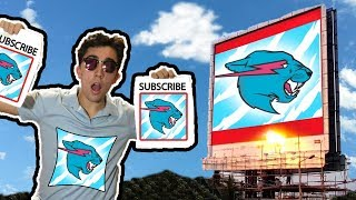I Bought MrBeast Billboards All Over My City For This...