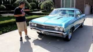 1967 Chevrolet Chevelle SS 138 Car Classic Muscle Car for Sale in MI Vanguard Motor Sales