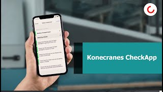 Increase uptime and safety with Konecranes CheckApp and daily inspections