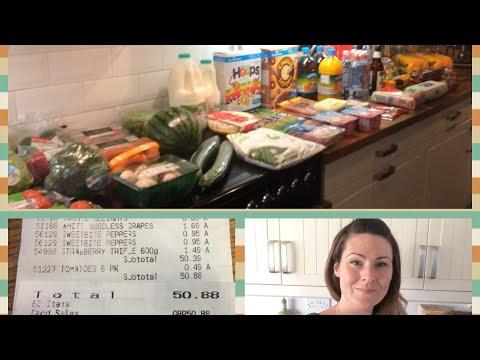 ALDI Food Shopping Haul 16/6/17