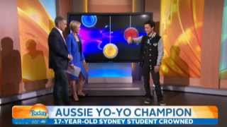 Brandon Vu on Channel 9 Today Show