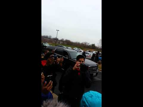 Mayor Marion Barry funeral