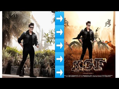 PicsArt KGF 2 Movie Poster Editing || How To Edit Movie Poster In PicsArt||PicsArt Editing