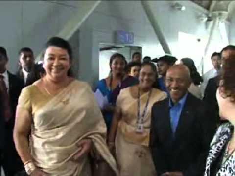 Sri Lankan First Lady Visit to Sri China