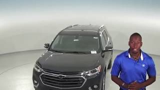 183046 - New, 2018, Chevrolet Traverse, LT, SUV, Gray, Test Drive, Review, For Sale -