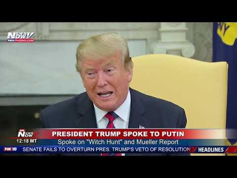 BREAKING: This Is What President Trump Said To Vladimir Putin