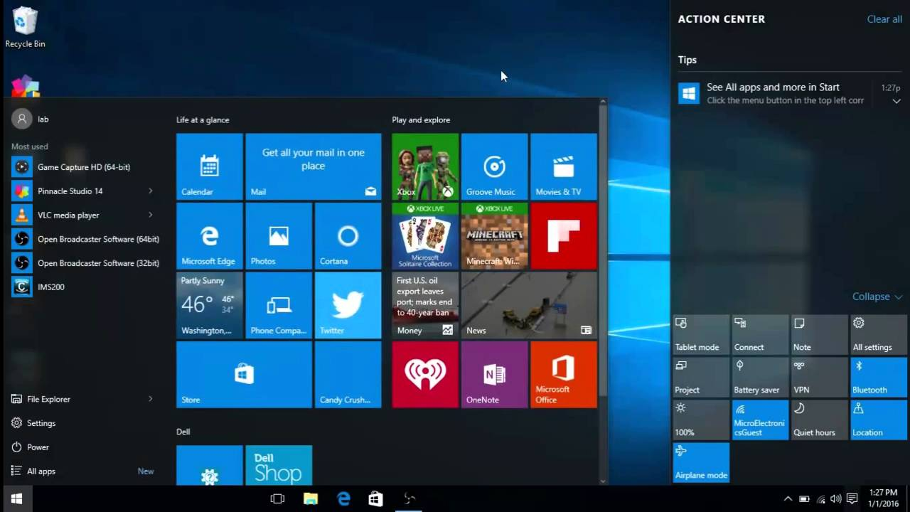 how to take windows 10 out of tablet mode