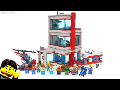 LEGO 2018 City Hospital review 🏥 set 60204