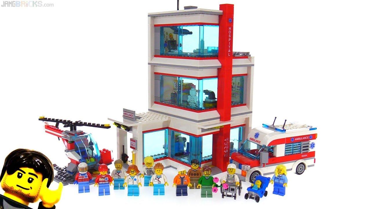 Lego 2018 City Hospital Review Set 60204 Youtube