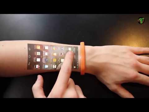 New Technology The Cicret Bracelet Smart Phone