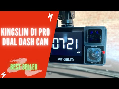 Kingslim D1 Pro Dual Dash Cam Installation | Kingslim D1 Pro Review | Kingslim D1 Pro Setup 2.5K/FHD