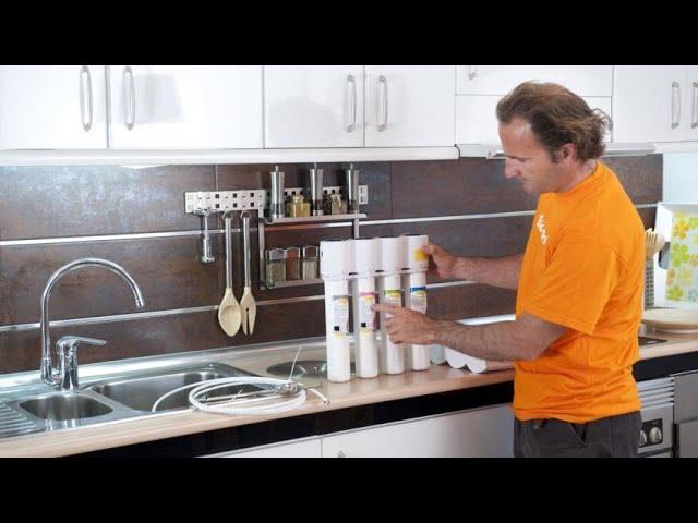 Sistema de filtración para depurar agua en casa - Bricomanía