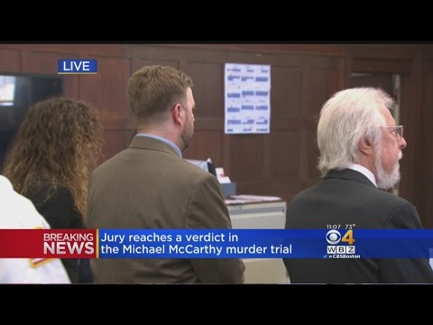 Jury Finds Michael McCarthy Guilty Of Second-Degree Murder