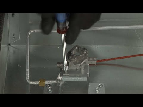 Left Rear Orifice Holder – Kitchenaid Gas Downdraft Cooktop Repair (Model #KCGD506GSS00)