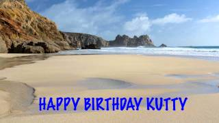 Kutty   Beaches Playas - Happy Birthday
