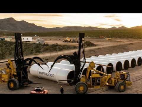 University of Washington Hyperloop team unveils its purple pod racer
