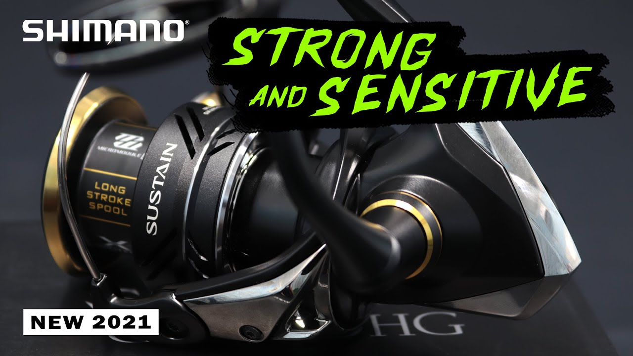 Download SHIMANO SUSTAIN FJ 2021: STRONG AND SENSITIVE!!!