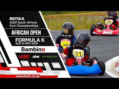 2020 SARMC African Open - Formula K - Bambino