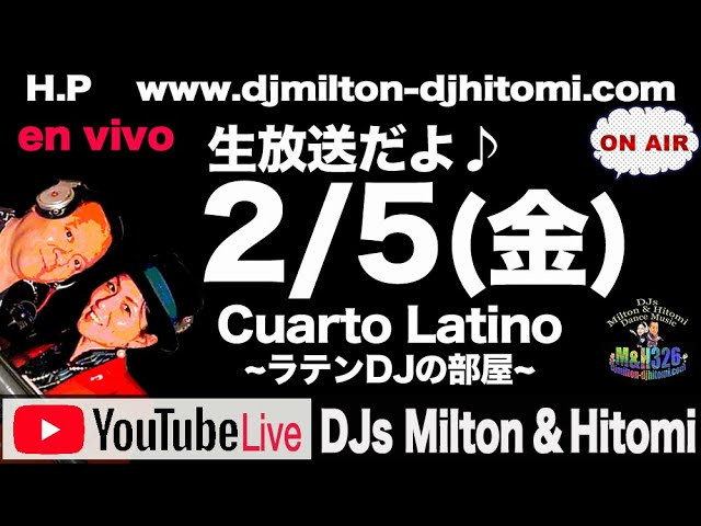 Youtube Live Cualto Latino 〜ラテンDJの部屋〜