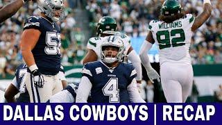 Cowboys vs Jets Recap + Heading into week 7 vs Eagles & More ✔️