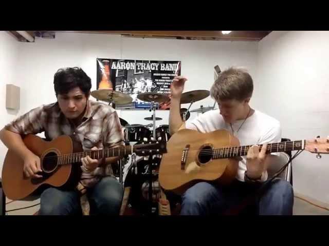 Timeless, Acoustic peformance Aaron & Daniel