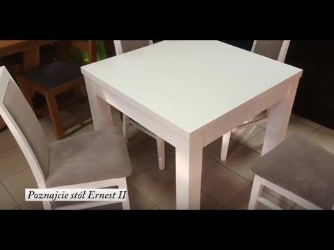Stół Ernest Ii Kwadratowy Stół Rozkładany Do 290 Cm Meble Dąb