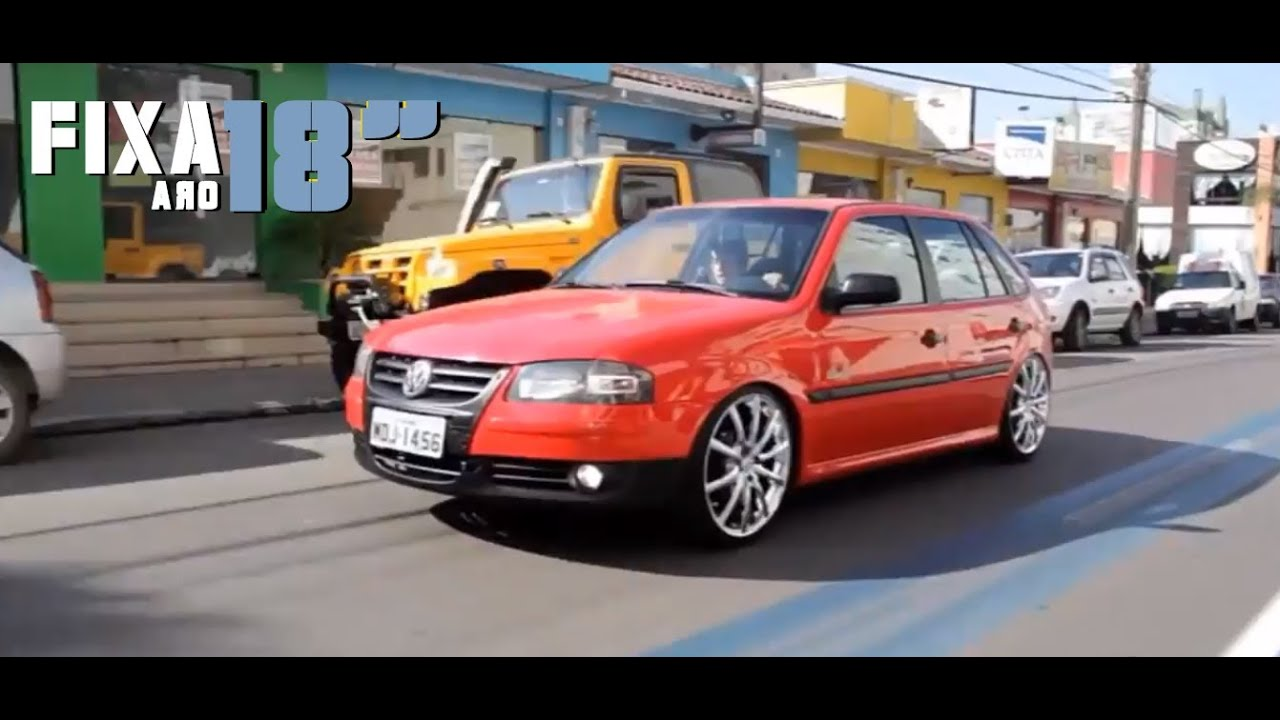 GOL G4 + FIXA + ARO 18`` = Cars Sound SC    HD - YouTube