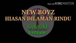 New Boyz hiasan di laman rindu karaoke version
