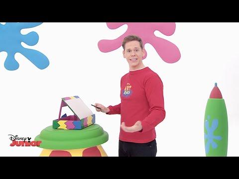 Art Attack - Drawing Board - Official Disney Junior UK HD