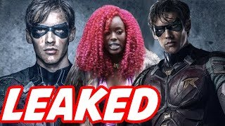 Titans Season 1 LEAKED Teaser Breakdown! - Starfire's REAL Costume and Main Villain Reveal!