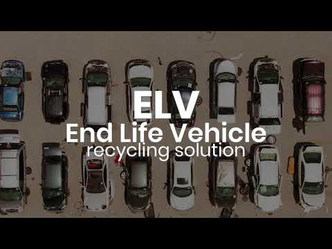 End-life-vehicle (ELV) Recycling Solution    Stokkermill Recycling Machinery- Italy
