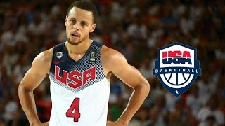 Stephen Curry Team USA Offense Highlights (2014) - 3 Point CHEESING!
