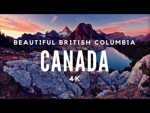 British Columbia Aerial Drone Footage [4k]