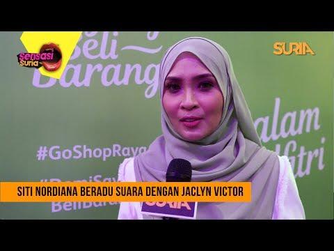 Siti Nordiana Beradu Suara Dengan Jaclyn Victor - Sensasi Suria