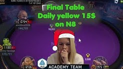 "Poker ""Christmas"" Final Table on Natural 8 