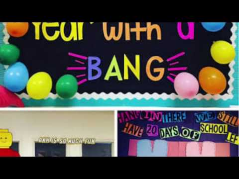 Classroom Decoration For Kids Youtube