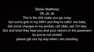 Tanner Fox - Hold Up (lyrics) feat. Dylan Matthew