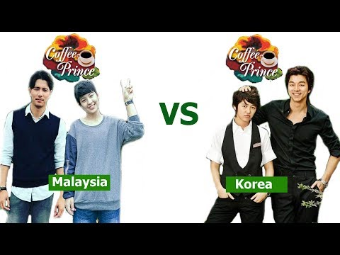 Coffee Prince Malaysia VS Original Korea