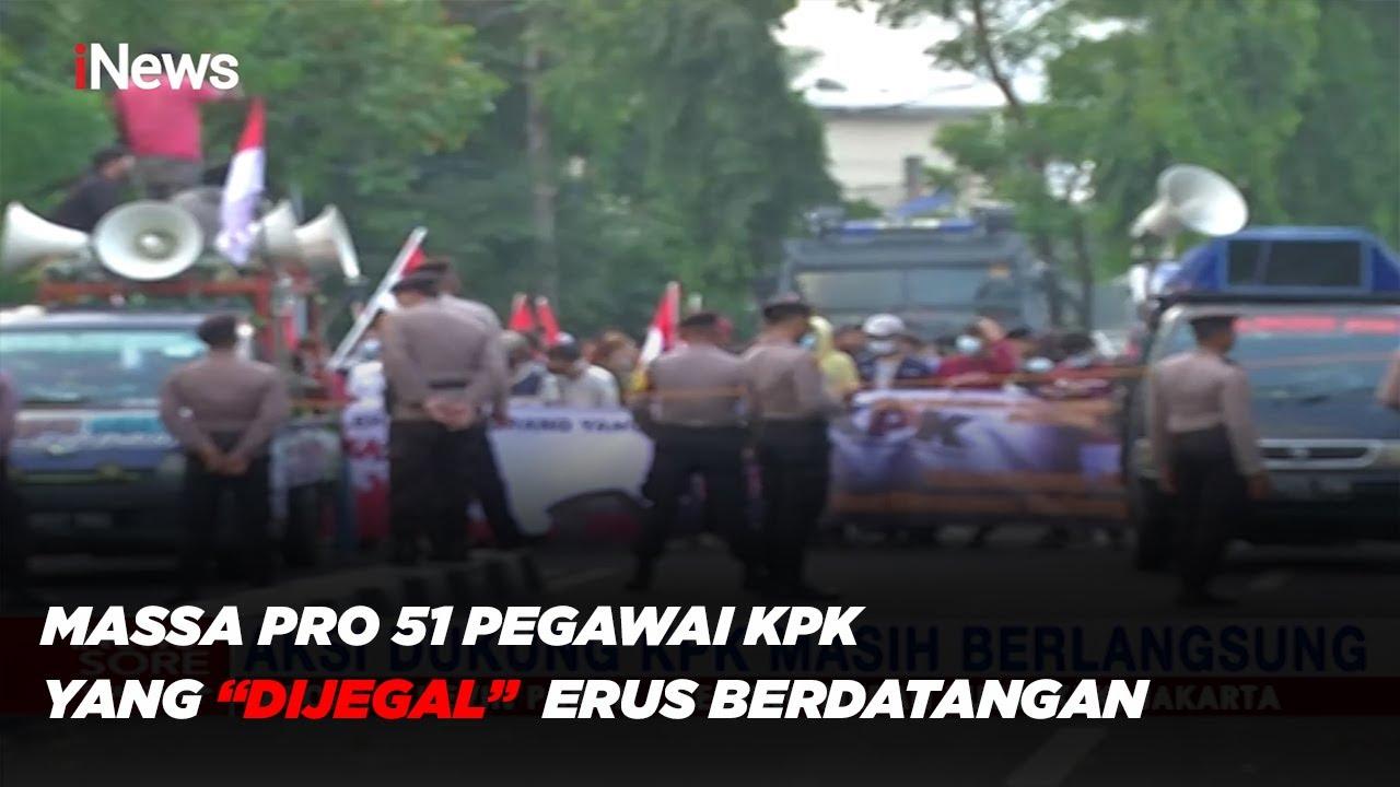 Kondisi Terkini Demonstrasi Gedung KPK Terkait Pro Kontra Pencopotan 51 Pegawai - iNews Sore 28/05
