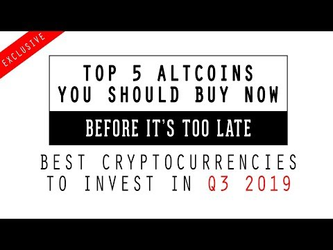 TOP 5 ALTCOINS to Buy Now. Before its too late! Best Altcoins Cryptocurrencies to Invest in 2019