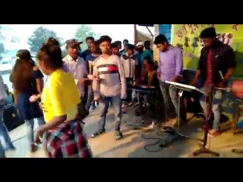 Dinesh Tudu, Binod Hansda, Bablu Murmu Santali Stage Program Video Song
