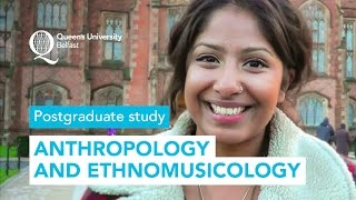 Study Anthropology and Ethnomusicology at Queen