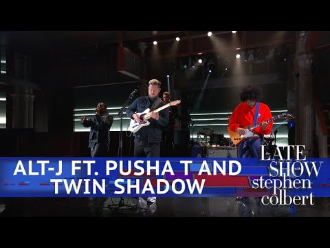 Alt J Ft Pusha T And Twin Shadow Perform In Cold Blood