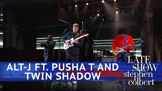 Alt-J Ft. Pusha T And Twin Shadow Perform 'In Cold Blood'