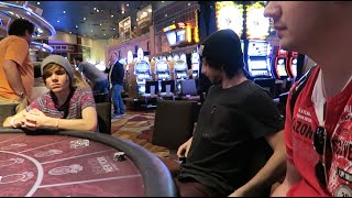 TURNING $1 TO $100 IN LAS VEGAS (feat. deefizzy)