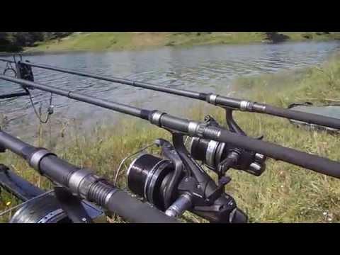 Sazan balığının oltaya vuruş anı ve devamı.. Delkim Run Team BSA - Bsa Baits