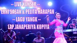Live Konser Erni Sasak & Om Pelita Harapan Feat Kopiya Seruput nendang Lagu YANGK  Lap Janapria