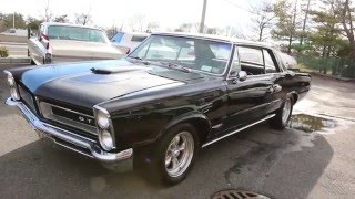 1965 Pontiac GTO Coupe For Sale~Numbers Matching 389~4 Speed~Black on Black